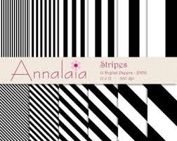 black and white striped tissue paper black stripe paper etsy