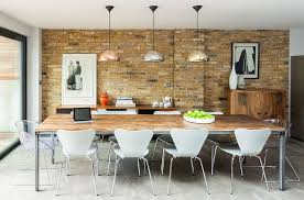 dining room industrial dining room table home interior design