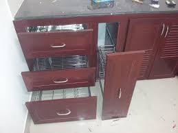 Modular Kitchen Cabinets by Pvc Modular Kitchen Coimbatore Redme Interiors