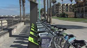 deco bike stations open in pacific beach rental shops protest