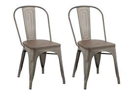Copper Bistro Chair Btexpert Industrial Metal Vintage Tabouret Antique Copper Bronze