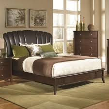 Upholstered Headboard Bedroom Sets Pillow Headboard Bedroom Set Carpetcleaningvirginia Com