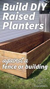Raised Gardens You Can Make by Building A Raised Garden Bed Summer Garden Fences And Gardens