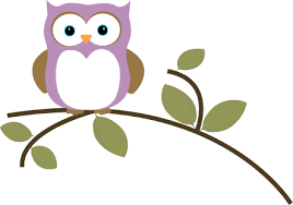 owl on tree branch clipart clip library