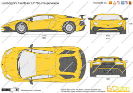 lamborghini aventador drawing outline the blueprints com vector drawing lamborghini aventador lp 750