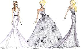 drawing wedding dresses dress design sketches madrat co