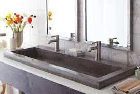 bathroom sink trough sink bathroom small vessel sinks trough