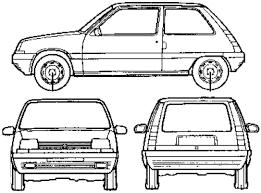 car blueprints чертежи автомобилей renault