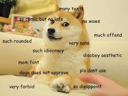 Doge Meme Tumblr - doge meme comic sans image memes at relatably com