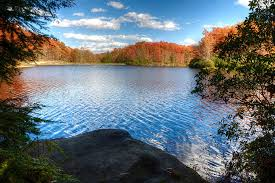 West Virginia lakes images Autumn falls on boley lake west virginia travel bugster jpg