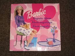 Magnetic Album Barbie Items Magnetic Album Books Stickers Etc Toys U0026 Games