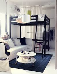 College Loft Bed Storå Loft Bed Frame Black Small Colleges Lofts And College