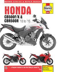Honda 2013 Cbr500r Honda Cb500f X And Cbr500r 13 15 Haynes Repair Manual Haynes