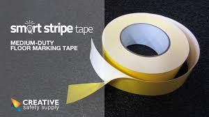 Floor Tape by Smart Stripe Tape An Upgrade To Standard Vinyl Floor Tape Youtube