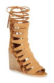 gladiator wedge heel sandals fs heel