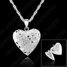 sterling heart pendant necklace images Buy jexxi one pc frame case picture necklace 925 jpg