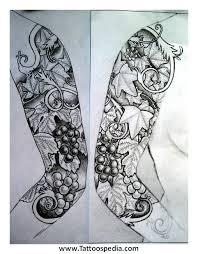 unique design half sleeve design sleeve