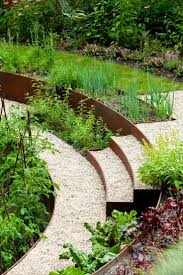 Retaining Wall Garden Bed by Best 20 Steel Garden Edging Ideas On Pinterest U2014no Signup Required
