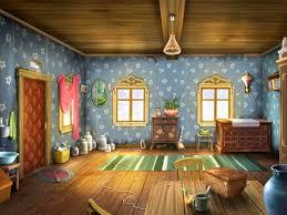 cartoon living room background