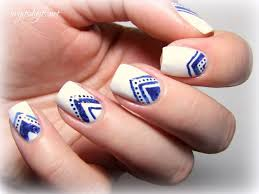 nail art designs blue and white gallery nail art designs