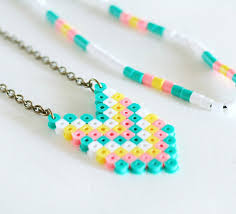 four fuse bead patterns sure to make your heart melt