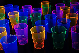 party cups assorted neon blacklight reactive 12oz party cups 40ct