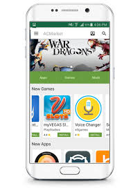 android market app acmarket cracked play store android apps