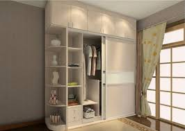 Small Bedroom With King Size Bed Wardrobe Designs For Small Bedroom Wall Cabinets Wooden Lam White