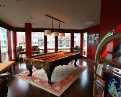 Room Size For Pool Table by Rug Under Pool Table Houzz