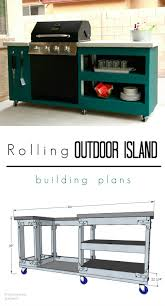 How To Build An Outdoor Patio Learn To Build Your Own Rolling Outdoor Island With Free Building
