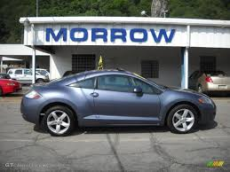 mitsubishi eclipse coupe 2007 still blue pearl mitsubishi eclipse gs coupe 30616276