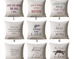 engraved pillows personalized pillow etsy