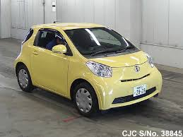 yellow toyota 2010 toyota iq yellow for sale stock no 38845 japanese used