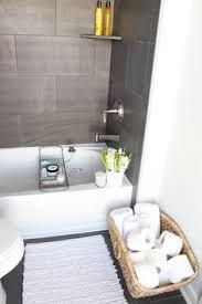 Grey Slate Tile Bathroom Small Master Bathroom Makeover Master Bathrooms Tile And