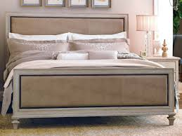 Upholstered Bed Frame Cole California by Padded Bed Frame American Modern Natural Upholstered Bed Full