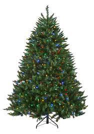 simple decoration pre lit multicolor tree multi color