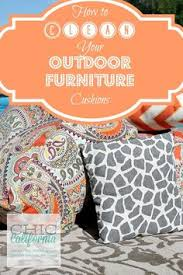 How To Clean Patio Furniture by How To Clean Outdoor Cushions Tutorial 1 5 Tsp Dishwashing