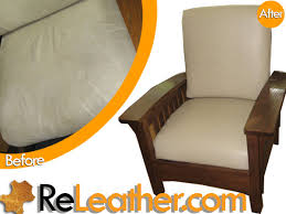 leather restoration lounge chairs