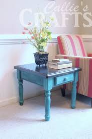 painting a table with chalk paint callies crafts chalk paint end table update trends with painted