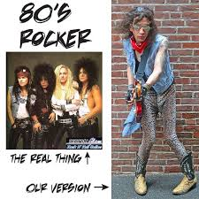 Mens 80s Halloween Costumes 7 80s Rocker Images Rockers 80 Rock