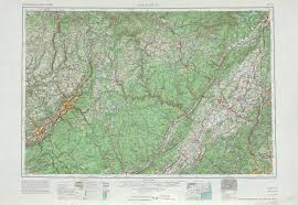 Map Of New Jersey And Pennsylvania by Scranton Topographic Maps Pa Ny Nj Usgs Topo Quad 41074a1 At