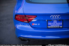 audi exclusive nogaro blue rs 7 from the audi exchange quattroworld