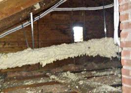 ductless air conditioner heat pump spray foam insulation