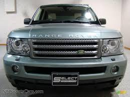 metallic land rover 2007 land rover range rover sport hse in giverny green metallic
