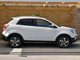 ssangyong korando 2005 ssangyong korando 2 2 elx 4x4 auto 5dr latest 2017 model ex demo