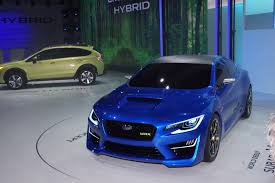 subaru cars 2013 subaru wrx concept live photos 2013 new york auto show