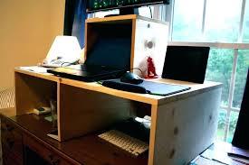 Computer In Desk Desk With Built In Computer Custom Gaming Build Desktop Diy