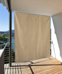 sonnensegel balkon ohne bohren sonnenschutz windschutz sichtschutz balkon terrasse creme l 230 x