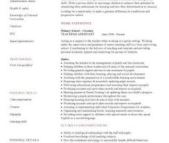 teaching assistant resume sle 28 images assistant resume in pa
