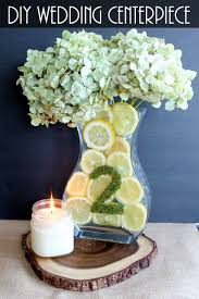 simple wedding centerpieces with lemons the country chic cottage